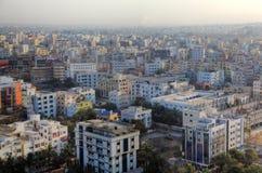 Paesaggio urbano di Haidarabad fotografia stock libera da diritti