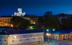 Paesaggio urbano di Helsinki Fotografia Stock Libera da Diritti