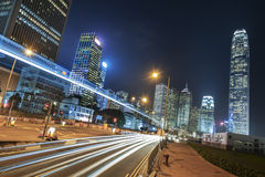 Paesaggio urbano di Hong Kong Immagini Stock