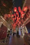 Paesaggio urbano di Hong Kong Fotografia Stock Libera da Diritti