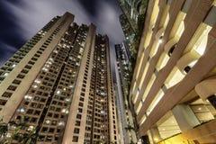 Paesaggio urbano di Hong Kong Immagine Stock