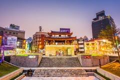 Paesaggio urbano di Hsinchu, Taiwan immagini stock
