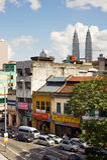 Paesaggio urbano di Kuala Lumpur immagini stock libere da diritti