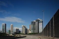 Paesaggio urbano di Kuala Lumpur fotografie stock