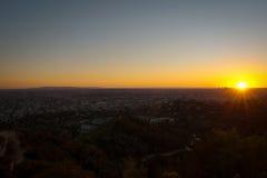 Paesaggio urbano di LA Fotografia Stock Libera da Diritti
