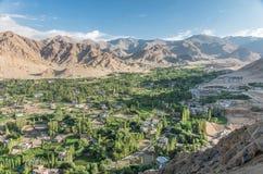 Paesaggio urbano di Leh - Ladakh, India Fotografie Stock