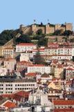 Paesaggio urbano di Lisbona Immagine Stock