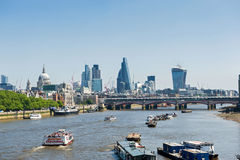 Paesaggio urbano di Londra Fotografia Stock Libera da Diritti