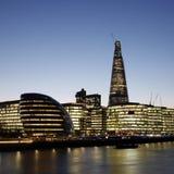 Paesaggio urbano di Londra, torretta Hemlets fotografie stock libere da diritti