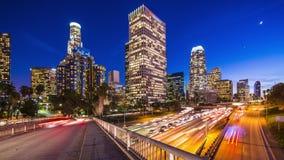 Paesaggio urbano di Los Angeles archivi video