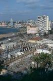 Paesaggio urbano di Luanda, Angola Fotografia Stock Libera da Diritti
