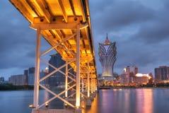 Paesaggio urbano di Macau immagine stock