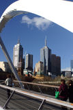Paesaggio urbano di Melbourne Immagine Stock