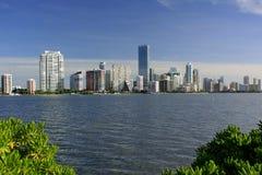 Paesaggio urbano di Miami Fotografia Stock