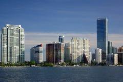 Paesaggio urbano di Miami Immagine Stock