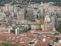 Paesaggio urbano di Monte Carlo Fotografie Stock Libere da Diritti