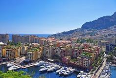 Paesaggio urbano di Monte Carlo fotografia stock libera da diritti