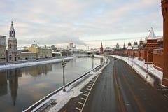 Paesaggio urbano di Mosca Fotografia Stock Libera da Diritti