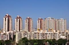 Paesaggio urbano di Mumbai fotografie stock libere da diritti