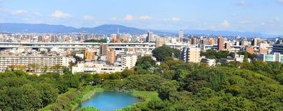 Paesaggio urbano di Nagoya Immagine Stock Libera da Diritti