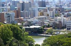 Paesaggio urbano di Nagoya Immagine Stock