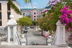 Paesaggio urbano di Nassau Fotografie Stock