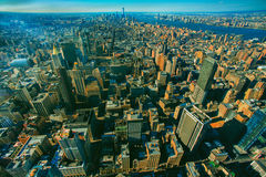 Paesaggio urbano di New York Fotografia Stock Libera da Diritti