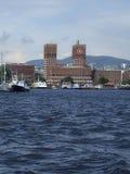 Paesaggio urbano di Oslo Fotografia Stock