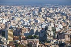 Paesaggio urbano di Palma di Maiorca, Spagna immagine stock