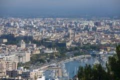 Paesaggio urbano di Palma di Maiorca, Spagna Fotografia Stock