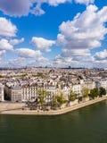Paesaggio urbano di Parigi fotografia stock