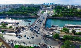 Paesaggio urbano di Parigi Immagine Stock