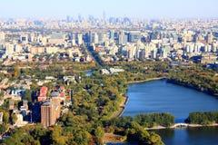 Paesaggio urbano di Pechino Immagine Stock