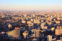 Paesaggio urbano di Pechino Fotografie Stock Libere da Diritti
