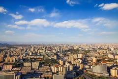 Paesaggio urbano di Pechino Immagini Stock