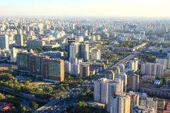 Paesaggio urbano di Pechino Fotografia Stock Libera da Diritti