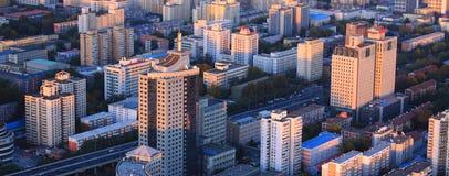 Paesaggio urbano di Pechino Fotografie Stock