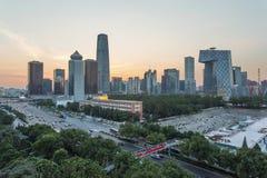 Paesaggio urbano di Pechino Immagine Stock Libera da Diritti