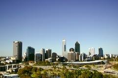Paesaggio urbano di Perth Immagine Stock