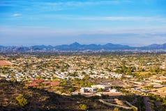 Paesaggio urbano di Phoenix Fotografie Stock Libere da Diritti