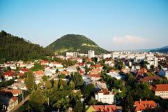 Paesaggio urbano di Piatra Neamt Fotografia Stock Libera da Diritti