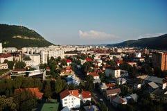 Paesaggio urbano di Piatra Neamt Immagine Stock