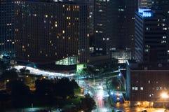Paesaggio urbano di Pittsburg Immagini Stock Libere da Diritti