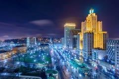 Paesaggio urbano di provvidenza Fotografia Stock