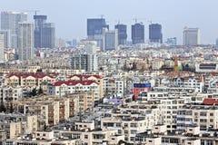 Paesaggio urbano di Qingdao, Cina Fotografie Stock Libere da Diritti