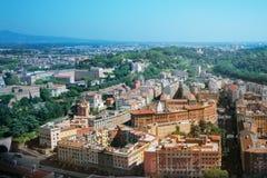 Paesaggio urbano di Roma Fotografie Stock Libere da Diritti