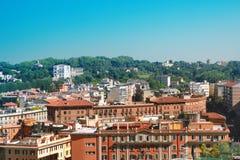 Paesaggio urbano di Roma Immagine Stock