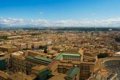 Paesaggio urbano di Roma del centro Fotografia Stock Libera da Diritti