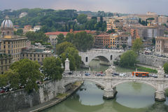 Paesaggio urbano di Roma, Italia Immagine Stock