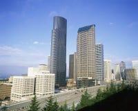 Paesaggio urbano di Seattle Fotografie Stock Libere da Diritti